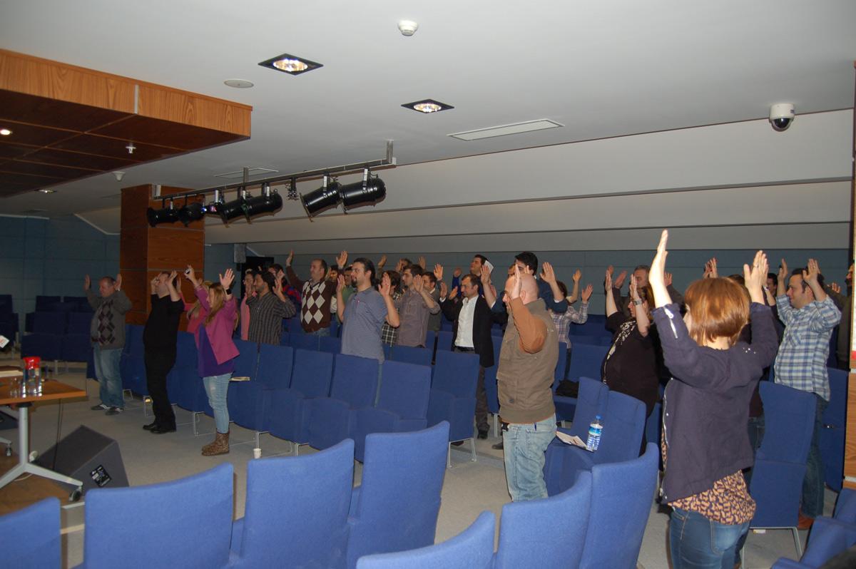 AKGÜN'de Stres Yönetimi Eğitimi